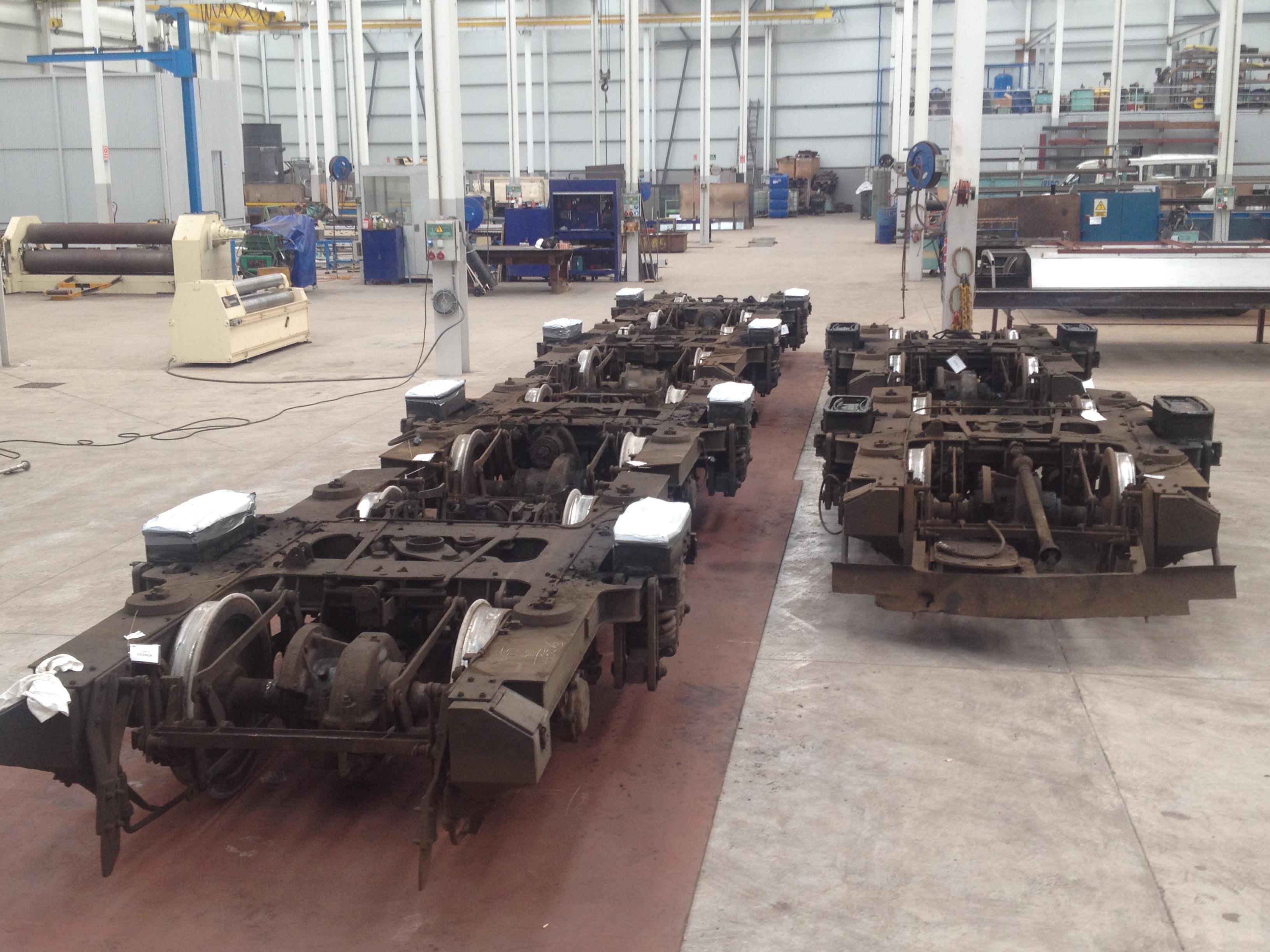 4 bogies transformation for Renfe